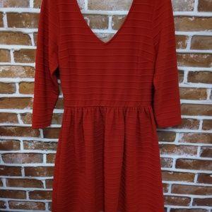 Women Alya Red Dress Size M